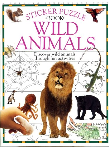 Wild Animals (Snapshot Sticker Puzzle Books) (0789400065) by DK Publishing