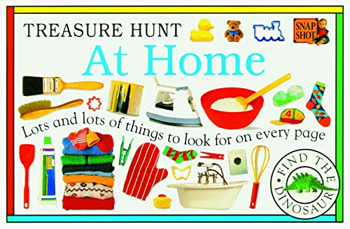 At Home 9780789406293 Finding the hidden dinosaur is just the beginning of the fun and education in Treasure Hunt books.