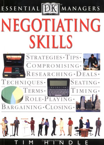 9780789424488: DK Essentials Managers: Negotiating Skills (Dk Essential Managers)