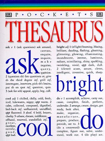 9780789428097: Thesaurus (DK Pockets)
