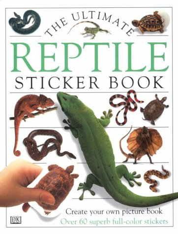 9780789428172: Ultimate Sticker Book: Reptiles