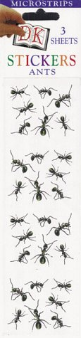 9780789431332: Micro Sticker Strips: Ants (Pack of 12)