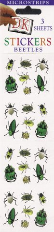 9780789431356: Micro Sticker Strips: Beetles (Pack of 12)