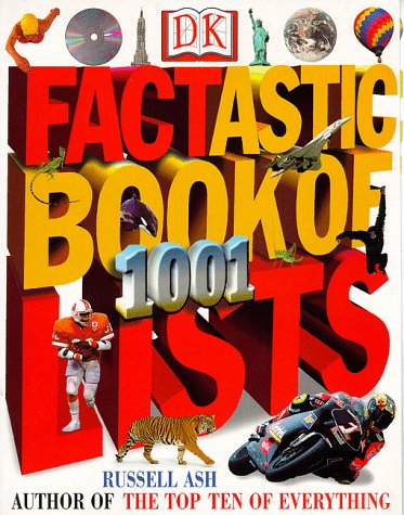 9780789434128: Factastic Book of 1001 Lists