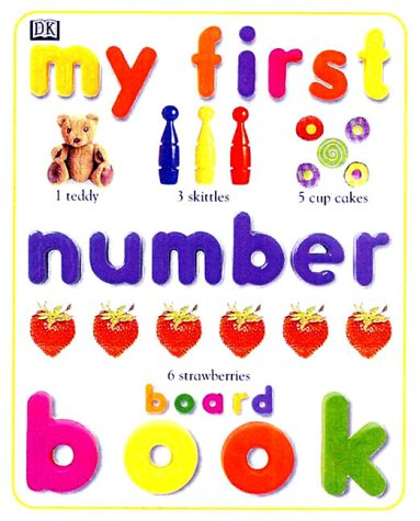 9780789434500: My First Number Board Book