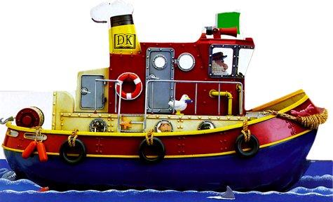 9780789434630: Tugboat (Jumbo Shaped Board Books)