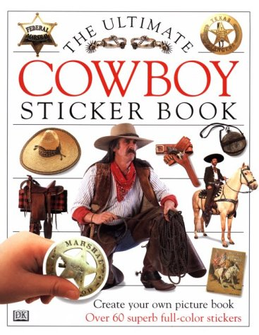 9780789434654: Cowboy: Sticker Book