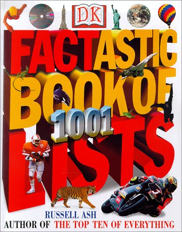 9780789437693: The Factastic Book of 1001 Lists