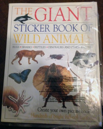 9780789439253: The Giant Sticker Book of Wild Animals