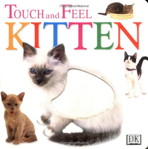 9780789439901: Touch and Feel: Kitten (Touch and Feel)