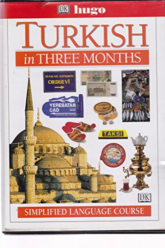 9780789442192: Hugo Language Course: Turkish In Three Months (with Cassette)
