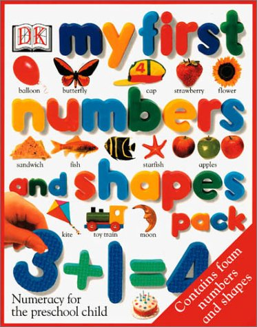 9780789452177: My First Numbers and Shapes Pack