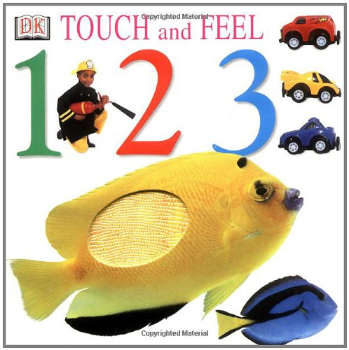 9780789452207: Touch and Feel: 1,2,3