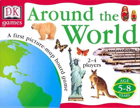 DK Games: Around the World (Board Game): DK Publishing