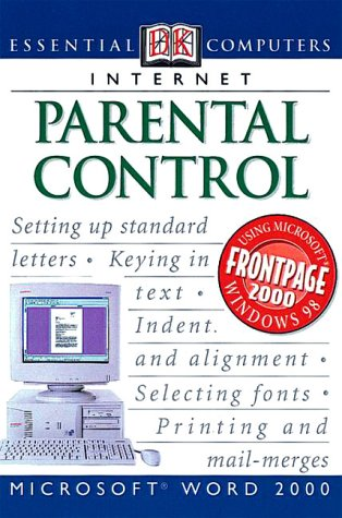 Essential Computers: Parental Control (0789455285) by Watson, John H.; Howells, Jan