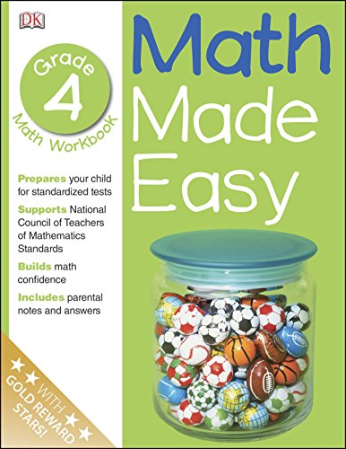 9780789457356: Math Made Easy: Fourth Grade Workbook (Math Made Easy)