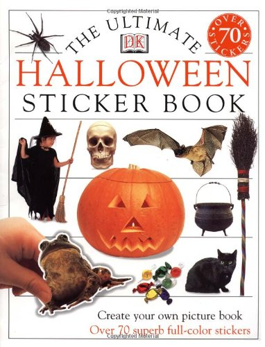 9780789465023: Ultimate Sticker Book: Halloween (Ultimate Sticker Books)