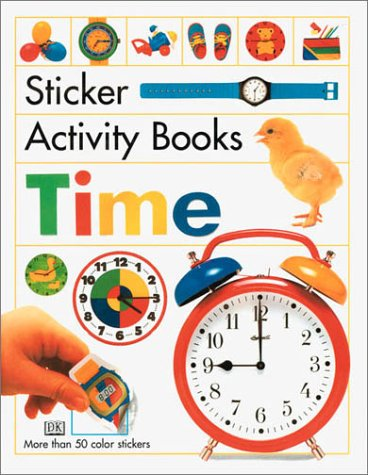 9780789476654: Sticker Activity Book: Time