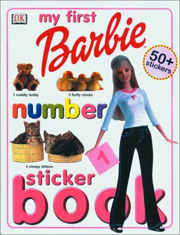 9780789478474: Barbie: My First Numbers Sticker Book