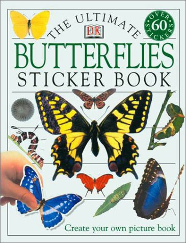 Ultimate Sticker Book: Butterflies: Jayne Parsons