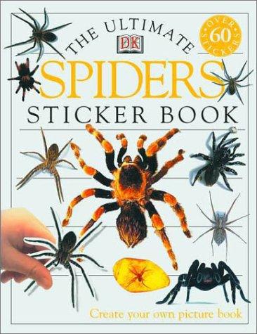 Ultimate Sticker Book: Spiders: Parsons, Jayne