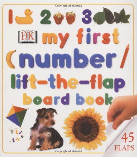 9780789479303: My First Numbers Lift-The-Flap Board Board Book