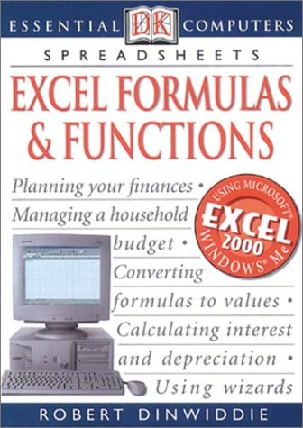 9780789484109: Excel Formulas and Functions (DK Essential Computers)