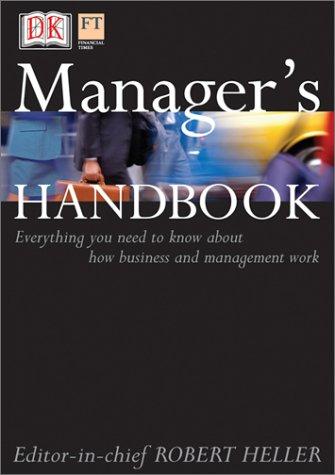 Manager's Handbook: DK Publishing