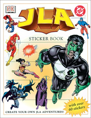 9780789488923: Jla Sticker Book (Ultimate Sticker Books)