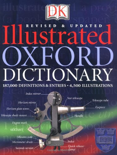 9780789493590: DK Illustrated Oxford Dictionary
