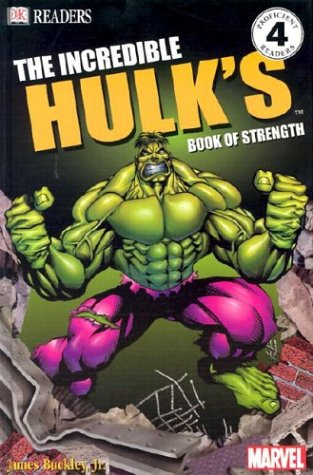 9780789495433: The Incredible Hulk Book of Strength (DK Readers, Level 4)