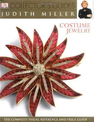 Costume Jewelry 9780789496423 Tracing the history of costume jewelry from ancient times to the present day, and explaining how changing fashions, social developments, and the discovery of new materials have influenced and inspired designers, DK Collector's Guide: Costume Jewelry is exciting, comprehensive, and easy to use. Written by world-renowned antiques expert Judith Miller, the book offers more than 1,500 collectible pieces in catalog-style, including special sections on 25 major designers such as Joseff of Hollywood, Tiffany & Co, Chanel, Schiaparelli and Dior, and offers priceless tips on what to look for when buying costume jewelry.
