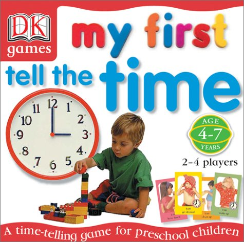 9780789498410: My First Tell the Time Game (DK Games)