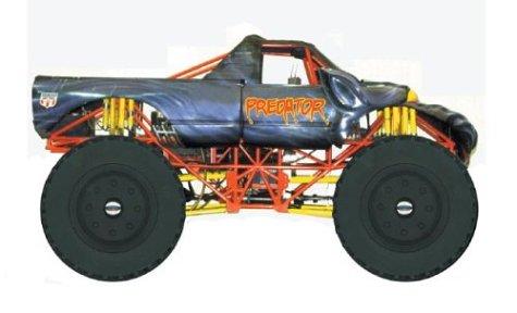 9780789498724: Predator (Monster Jam Wheelie Books)