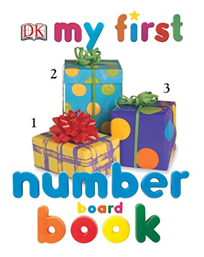 My First Number Board Book (My First Board Books)
