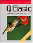 9780789500212: QBasic Fundamentals and Style with an Introduction to Microsoft Visual Basic for Windows