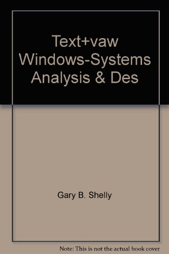 9780789501431: Title: Textvaw WindowsSystems Analysis Des