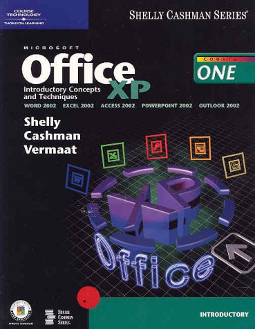 9780789562890: Microsoft Office XP Introductory Concepts and Techniques