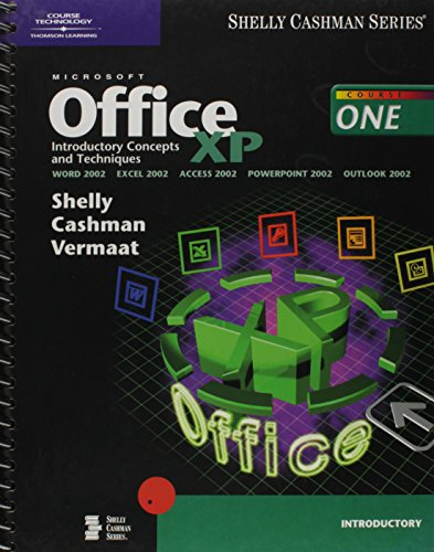 9780789563859: Microsoft Office XP: Introductory Concepts and Techniques (Shelly Cashman Series)
