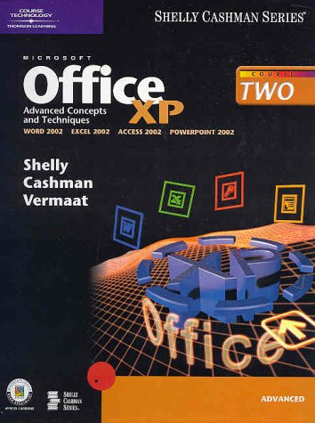 9780789563866: Microsoft Office XP: Advanced Concepts and Techniques (Shelly Cashman)