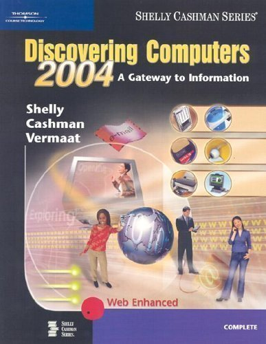 9780789567048: Discovering Computers 2004: A Gateway to Information, Complete