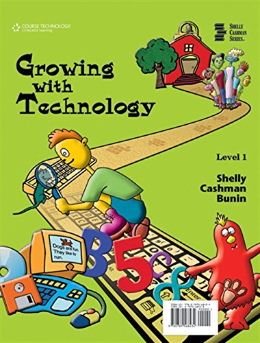 9780789568434: Growing with Technology: Level 1 (Shelly Cashman)