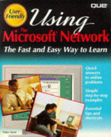 9780789703989: Using the Microsoft Network