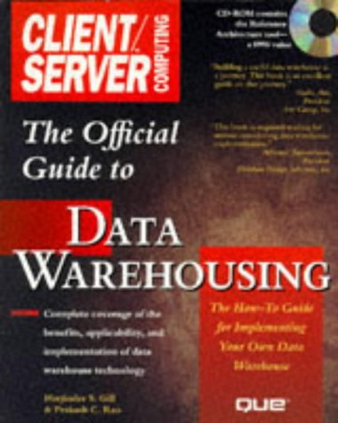 9780789707147: THE OFFICIAL CLIENT/SERVER COMPUTING GUIDE TO DATA WAREHOUSING. Avec CD-ROM, Edition anglaise