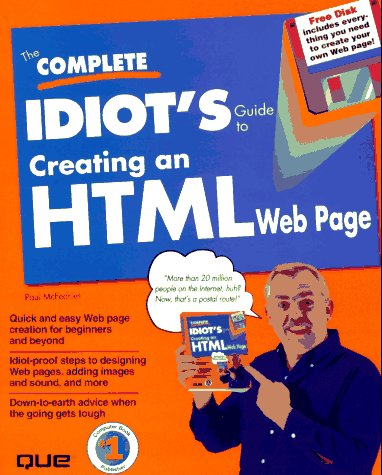 9780789707222: The Complete Idiot's Guide to Creating an Html Web Page