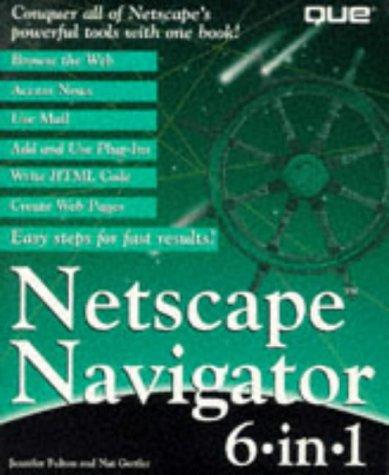 9780789708076: Netscape Navigator 6 in 1