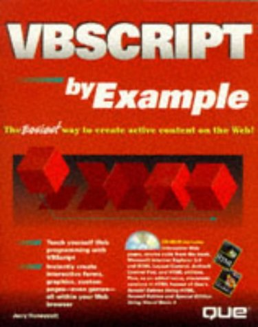 Vbscript by Example: Honeycutt, Jerry