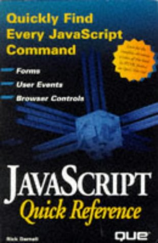 9780789708694: Javascript Quick Reference