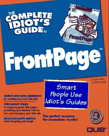 9780789709288: The Complete Idiot's Guide to Frontpage (Complete Idiot's Guide to...)
