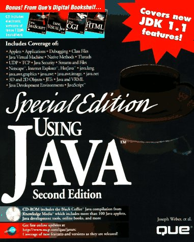 9780789709363: Special Edition Using Java (Using ... (Que))